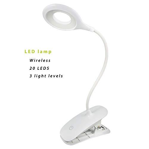 Lámpara LED escritorio. Luz led 3 modos brillo intensidad