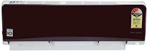 LG 1.5 Ton 3 Star Dual Inverter Split AC (JS-Q18NRXA, Lava Red)