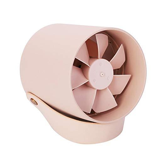 Garosa Tragbarer intelligenter Ventilator-Mini-ruhiger intelligenter Berührungsfächer-Schreibtisch-Tisch USB-Aufladung der Kühlventilatoren (Coral) (Coral Tisch)