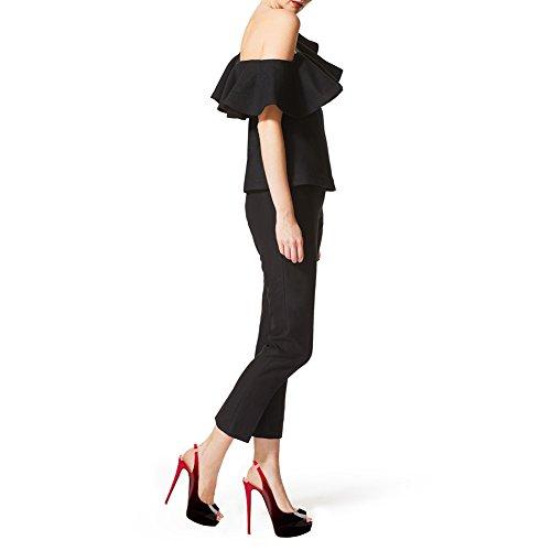 EKS, Scarpe col tacco donna Red-Black