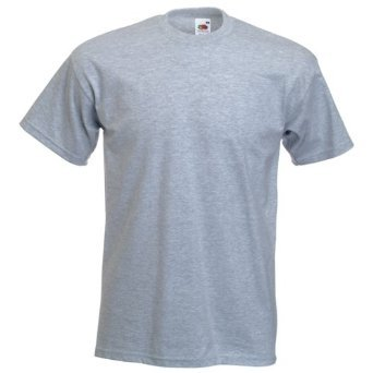 Fruit of the Loom Heavy Cotton T-Shirt Sizes Small to XXXL