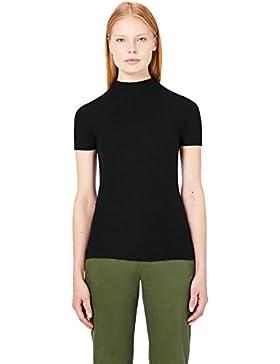 MERAKI Camiseta Slim Fit Cuello Subido Mujer