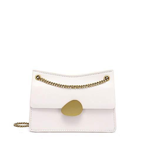 Simanli Designer-Handtaschen für Damen, luxuriöse Marken-Handtaschen, New Look, Umhängetasche, kleine Schultertasche Gr. One size, gebrochenes weiß