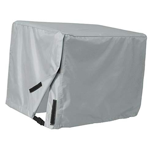 Fenteer Universale Generator Abdeckung Außenbordmotor Schutzhülle Sonnenschutz, Grau - 26 x 20 x 20 Zoll (Abdeckung Aussenbordmotor)