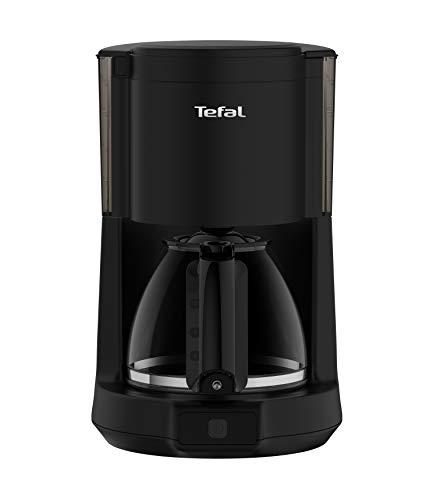 Tefal CM272N Principio Select Filter-Kaffeemaschine (1000 Watt, Kapazität: 1,25 Liter, automatische Abschaltung) schwarz - Schwarz Automatische Kaffeemaschine