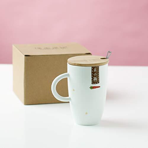 Tazze set di tazze grandi tazze e piattini lattiere thermos cup regalo di nozze di san valentino di compleanno della tazza di ceramica dell'iscrizione creativa del regalo su ordinazione creativo delle