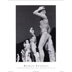 römischen Statuen von Jason Ellis 18x 24ART PRINT POSTER berühmten Naked römischen Stein Statuen Fotografie