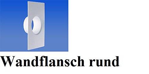 Lüftungskanal Flachkanalsystem Rohrkanal Abluftkanal Rohrkanal Flachkanal zubehö Rundkanal Ø100mm Montagerahmen