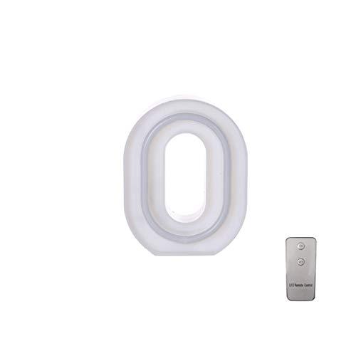 koperras 10 Zahlen, Brief Lichter, Led-Batterie, Usb-Dual-Use, Mit Fernbedienung Chip, Heiratsantrag, GestäNdnis, Geburtstag, Dekoration, Geschenk -