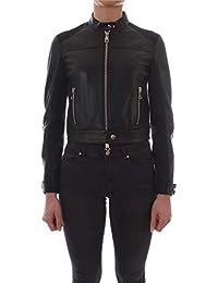 Pinko Giacca Outerwear Donna 1G1436Y58JZ99 Pelle Nero 69b6869f536