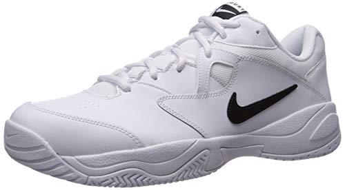 Nike Court Lite 2, Scarpe da Tennis Uomo, Bianco Black/White 100, 46 EU