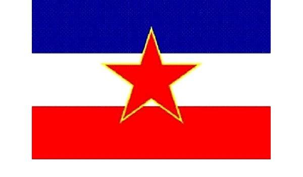 Fahne Flagge Jugoslawien alt 20 x 30 cm Bootsflagge Premiumqualität Sammeln & Seltenes