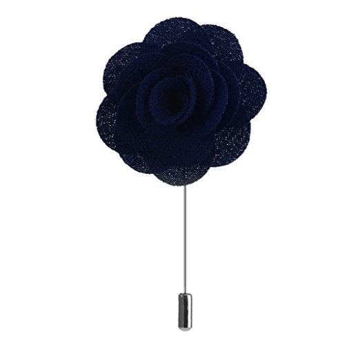 spilla-allocchiello-tessuto-a-mano-cina-rose-risvolto-uomini-fermacravatta-blu-navy