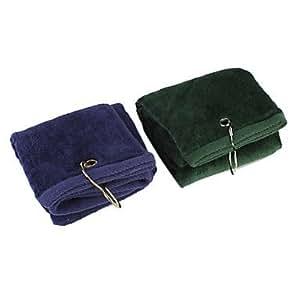 Driver Baumwollsamt Golf-Handtuch (zufällige Farbe)