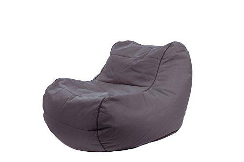 Jumbo Bag 29152–07Sessel Design Chilly Bean Polyester anthrazit 105x 75x 70cm