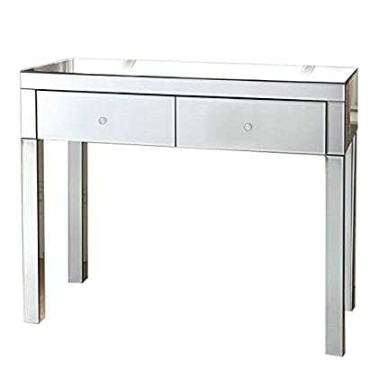 D PRO T Mirrored Dressing Table Mirror Dressing Table Console