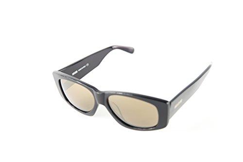 Moschino Damen MO-818S-01 Sonnenbrille, Schwarz (Black), 57