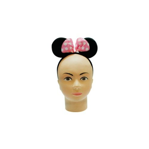 smartcraft Minnie Headband Light Pink , Party Props , Party Supplies , Minnie Mouse Ears HeadBand