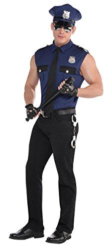KOSTÜM - POLIZIST - Größe 50 (M) (Kostüm Police Shirt)