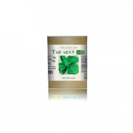 Eco responsable thé vert bio 200 gélules