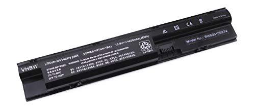 vhbw Li-Ion Akku für HP Probook 440, 450, 455, 470 Laptop Notebook wie 707616-141, 707616-851, 707617-421, 708457-001, 708458-001 - 4400mAh, 10.8V