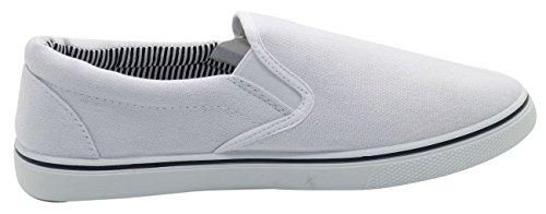 TrueFace Chaussures de Basket-Ball Pour Homme Blanc
