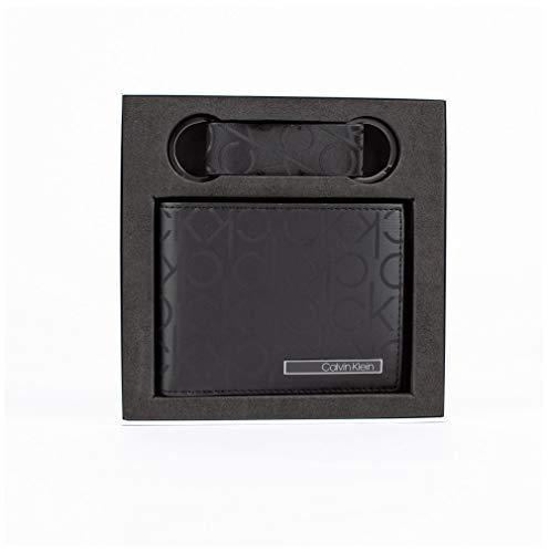 CALVIN KLEIN Jeans Industrial MONOGIFT Box Cartera/Monedero