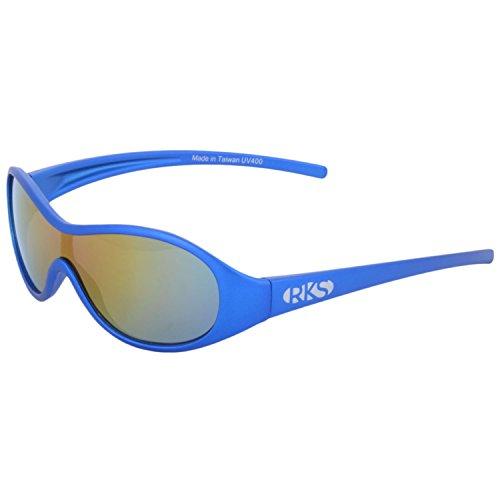 6c966cce18dc Real Kids Shades Sport Sunglass (Blue)(Racer 5 - 8-Blue)