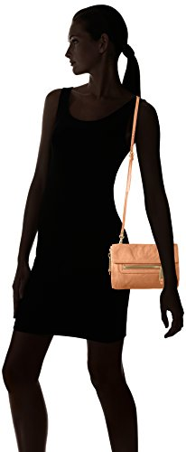 Marc O'Polo 70117420901100 Six, sac bandoulière Marron (Cognac)