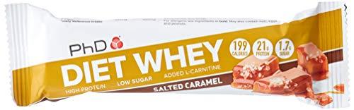 PHD Diet Whey Bar Salted Caramel, 12