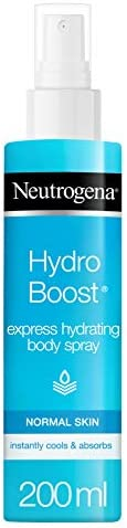 Neutrogena Body Spray, Hydro Boost, Express Hydrating, Normal Skin, 200ml