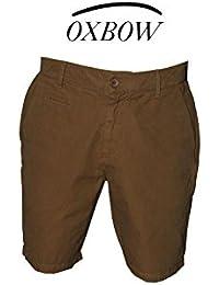 OXBOW - SHORT COTON COURT HAVANE MAROKA - Marron - Homme