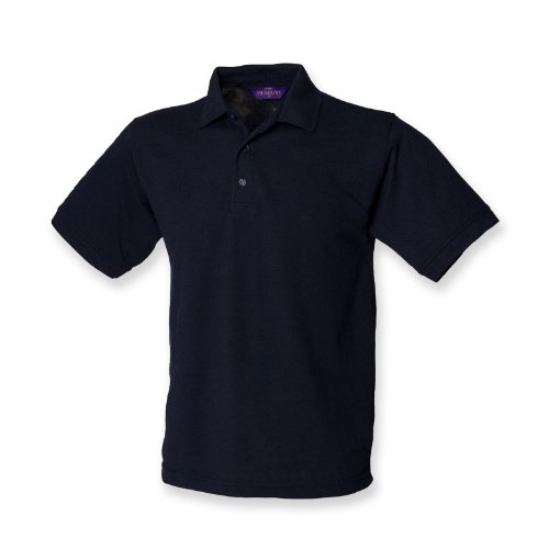 Henbury 65/35 polo Marine