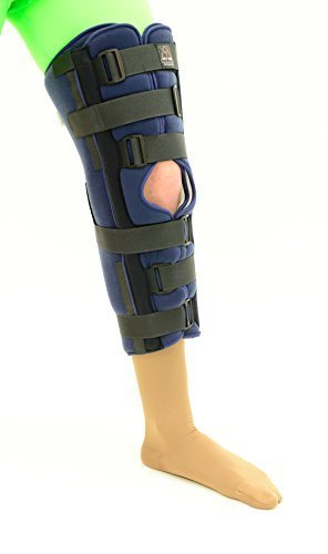 ITA-MED Tri-Panel Knee Immobilizer, 24 Inch Length, Small by Maxar -