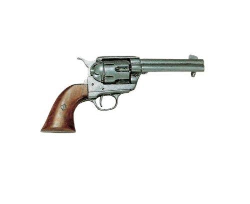 deko-waffe-45er-colt-peacemaker-grau