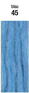 Austermann Kid Silk Farbe 45 azur - feines Lace Garn, Mohair Wolle zum Lace stricken -