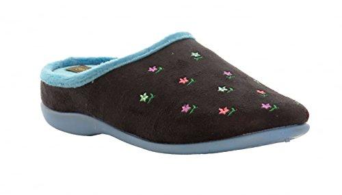 Pantofole da Casa Memory Foam - Donna Navy.