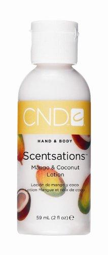 CND Creative Scentsations Hand & Body Lotion Mango & Coconut - 2 oz (japan import) - Scentsations Lotions