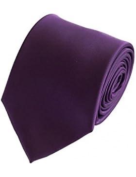 Corbata de Fabio Farini en púrpura