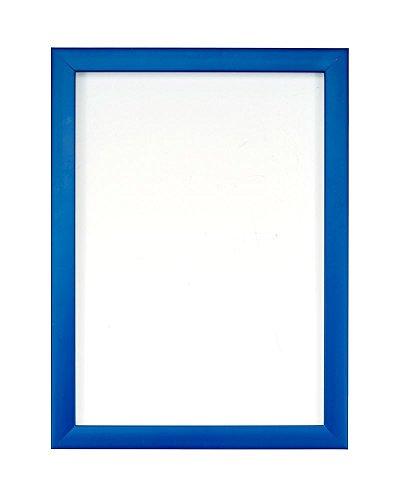 Arc-en-ciel Couleur Gamme photo/Photo/Poster en avec un dos en panneau MDF 40 cm prêt à être suspendu ou à posé avec support ? avec une grande Clarté styrène incassable en Perspex Sheet- 8 couleurs - A4 - bleu