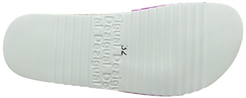 Desigual Shoes_bio 5, Sandales  Bout ouvert fille Pink (3009 CHICLE)
