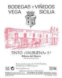 Vega Sicilia Valbuena 5° 1979, Ribera Del Duero