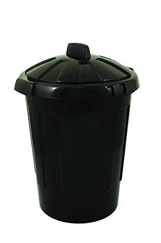 Charles Bentley 80 Liter Mülleimer mit Deckel