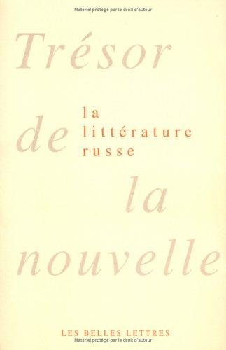 Trésor de la nouvelle de la littérature russe, coffret 2 volumes