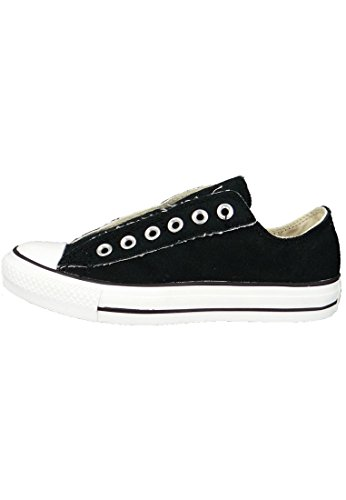 Converse, All Star Ox Canvas Seasonal, Sneaker, Unisex - adulto Nero (nero / bianco)