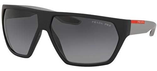 Ray-Ban Herren 0PS 08US Sonnenbrille, Braun (Black Rubber), 66.0