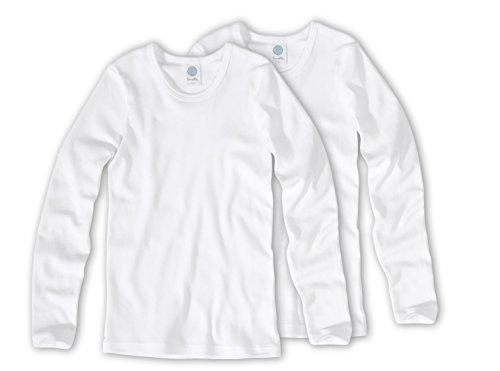 Sanetta T-Shirt langarm, unisex Doppelpack 301500 Organic Cotton Gr.128