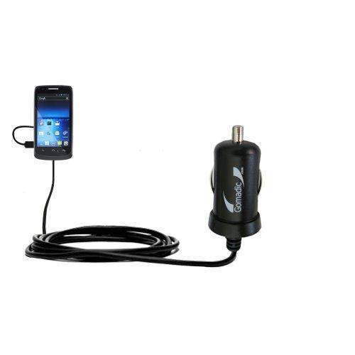 10W Mini-Autoladegerät kompatibel mit Sprint Force mit Energiespartechnologie und TipExchange