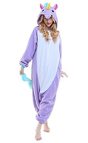 Enfants Adulte Unisexe Licorne Onesie Pyjama Halloween Cosplay Costume Unicorn Kigurumi Tenue Nuit Vêtements Soirée de Déguisement