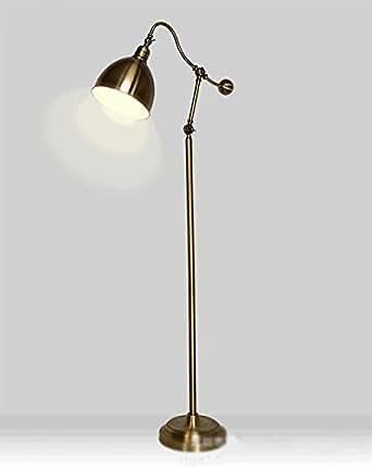 stehlampe schlafzimmer im europ ischen stil wohnzimmer retro stehlampe antik kupfer stehlampe. Black Bedroom Furniture Sets. Home Design Ideas